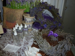 Serenity Lavender Farm Gift Shop in Colchester Ontario