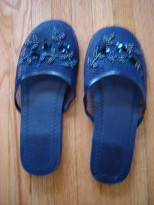 Chinese slippers from Chinatown Toronto
