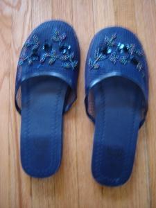 Chinese slippers from Chinatown Toronto