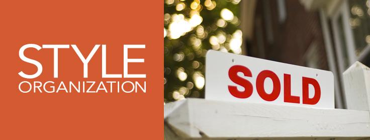 Style Organization - Sold