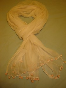 A Pale Scarf to Update in Windsor Ontario