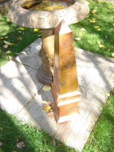 Style Organization's Fab Finds - Obelisk in Copper for the Garden