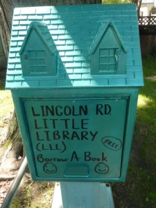 Lincoln Road Little Library  in Windsor
