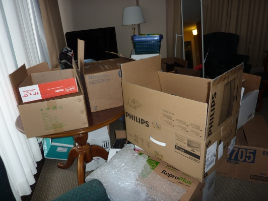 Packing Up a One Bedroom Apartment in Ottawa Ontario