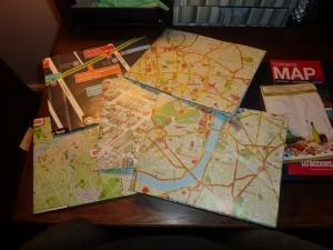 Souvenir Maps Repurposed