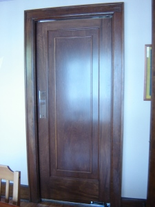 Refinished Door Dining Room Door