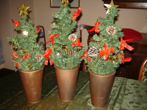 Style Organization decorates for Christmas
