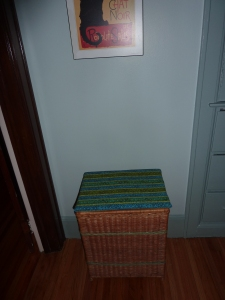 Laundry Basket Makeover in Windsor Ontario