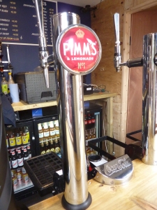 Pimm's On Tap In London U.K. - Genius!