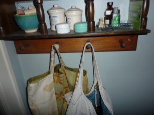 Wall Mounted Handbag Storage